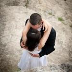Sesja ślubna w niecodziennej scenerii - fotografia ślubna