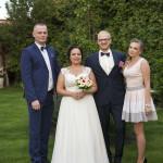 Sesja w ogrodzie - wesele Marty i Rafała_10