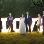 Sesja w ogrodzie - wesele Marty i Rafała_103