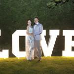 Sesja w ogrodzie - wesele Marty i Rafała_113