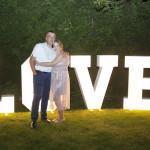Sesja w ogrodzie - wesele Marty i Rafała_115
