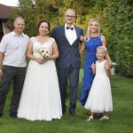 Sesja w ogrodzie - wesele Marty i Rafała_128