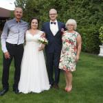 Sesja w ogrodzie - wesele Marty i Rafała_14