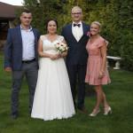 Sesja w ogrodzie - wesele Marty i Rafała_2