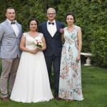 Sesja w ogrodzie - wesele Marty i Rafała_26