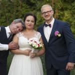 Sesja w ogrodzie - wesele Marty i Rafała_4