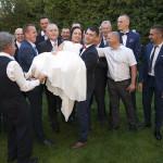 Sesja w ogrodzie - wesele Marty i Rafała_68