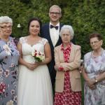 Sesja w ogrodzie - wesele Marty i Rafała_7