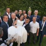 Sesja w ogrodzie - wesele Marty i Rafała_72