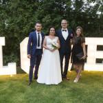 Sesja w ogrodzie - wesele Marty i Rafała_89
