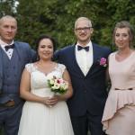 Sesja w ogrodzie - wesele Marty i Rafała_9
